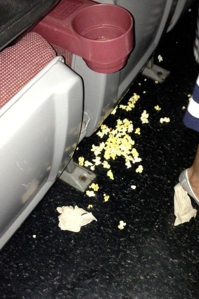 popcorn down