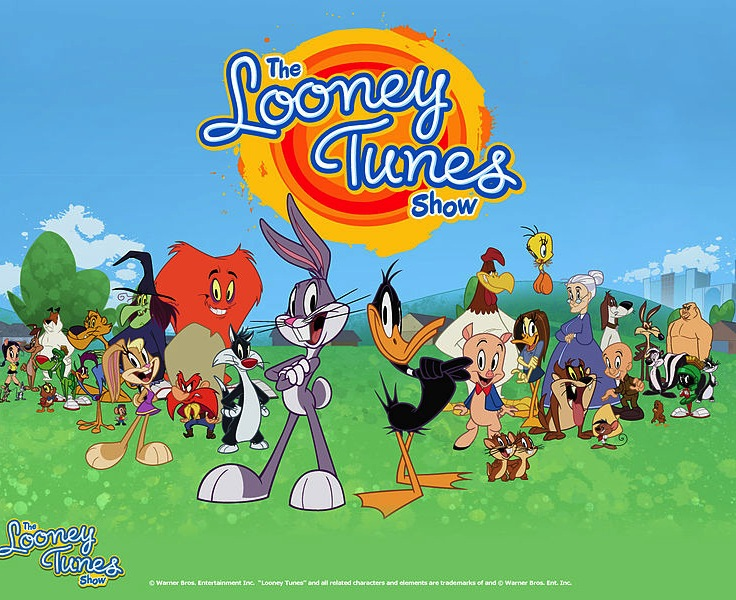 Looney tunes birthday all together in a scattered sort of way looney tunes show voltagebd Choice Image