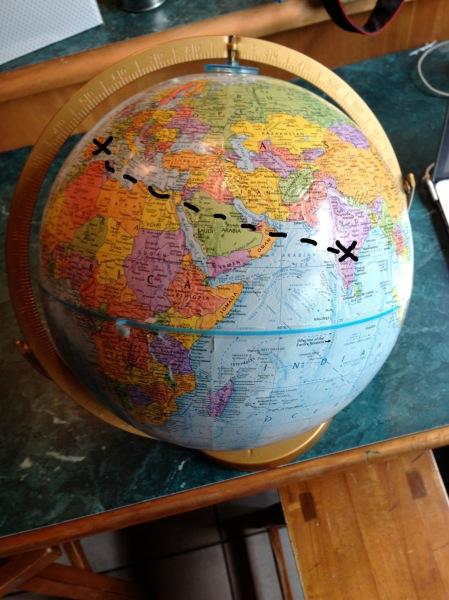 columbus globe1