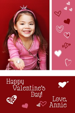 vday card back a
